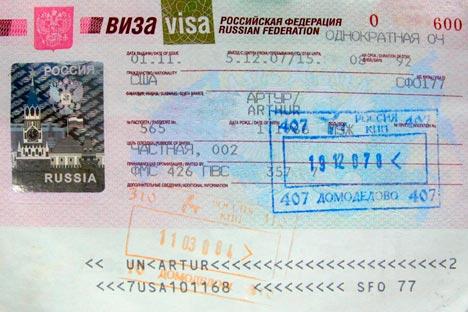 Das russische Visum ist nicht leicht zu bekommen. Foto: Lori/LegionMedia