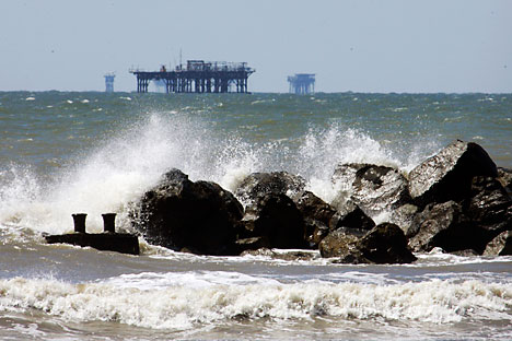 Rusia ha empezado a competir activamente por los recursos minerales situados en el fondo de los oceános. Foto de AP