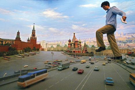 El tamaño de las viviendas de los moscovitas es prácticamente la mitad que el tamaño de las casas de los europeos. Foto de AP