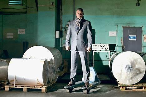 Alexéi Goncharov en su fábrica. Foto de Russki Reporter / Alexéi Maishov