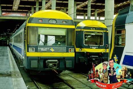 Fernbahn-Triebzüge in Madrid