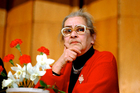Sowjetische Dissidentin und Menschenrechtlerin Jelena Bonner. Foto: ITAR-TASS