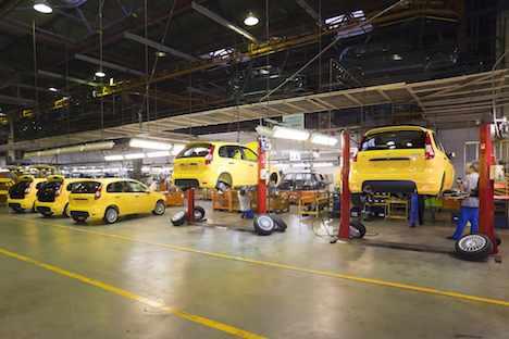 AwtoWAS ist der größte Hersteller von PKWs in Russland und Osteuropa. Foto: ITAR-TASS