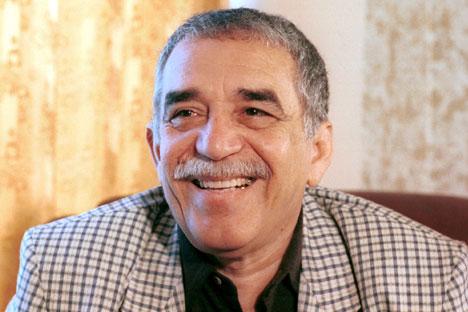 Gabriel García Márquez. Foto de Itar-Tass