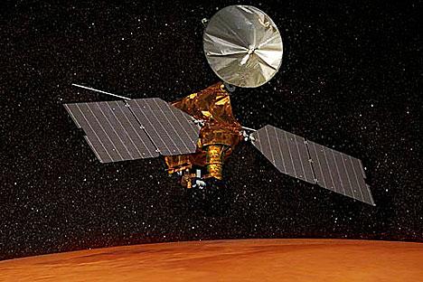 Reconnaissance Orbiter visita la Planeta Roja en 2005. Foto de NASA