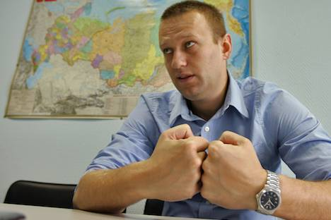 Blogger Alexey Nawalny. Foto: Kommersant photo