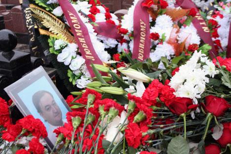 Sergej Magnitskij starb am 16. November 2009  in einem russischen Gefängnis. Foto: RIA Novosti