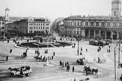 San Petersburgo el los tiempos de Biely. Foto de RIA Novosti