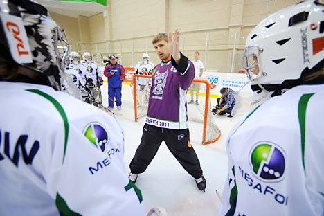Iliá Bryzgalov. Foto de Ria Novosti