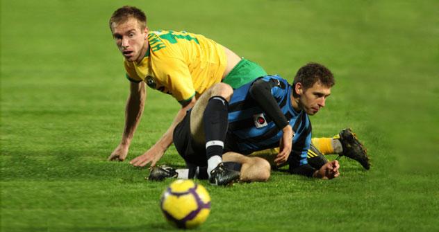 Nikola Nikezić (a la izquerda). Foto de Ria Novosti