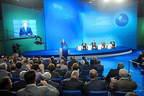 El Foro Político Internacional en Yaroslavl. Foto de Ria Novosti
