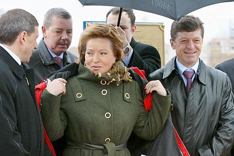 Valentina Matvienko, próxima presidenta de la Cámara alta. Foto de Ria Novosti