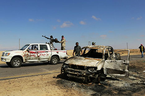 Aufstand in Libyen. Foto: Reuters