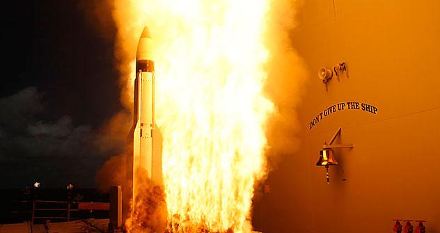 Misiles antibalísticos SM-3. Foto del servicio de prensa