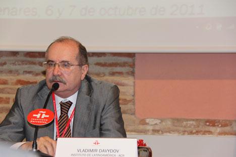Expertos rusos y españoles se reunieron el pasado 6 y 7 de octubre en la sede del Instituto Cervantes de Alcalá de Henares en un simposio organizado dentro del marco del Año de España en Rusia y de Rusia en España