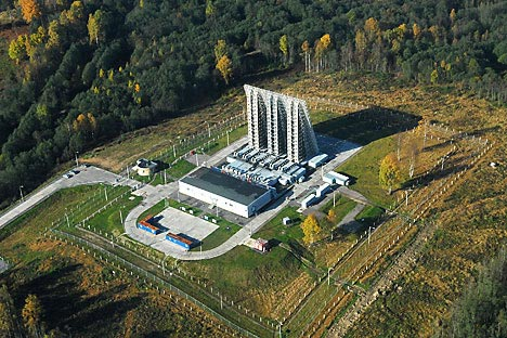 Base de radares do sistema antimíssil Don-2N da região de Moscou/Foto: ITAR-TASS