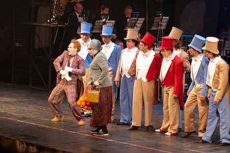 """Premiere von """"Die Liebe zu den drei Orangen"""" am Theater von Natalja Saz. Foto: Itar-Tass"""