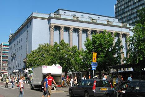 Stockholm Konserthuset. Aquí se presenta el Premio Nobel de Literatura. Foto de wikipedia.org