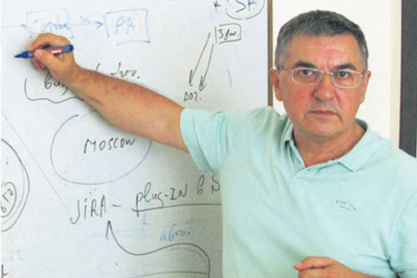 Gueorgui Patchikov. Foto del archivo personal