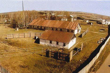 El campo de concertación sovietica de Vishera. Archivo