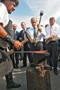Pútin cobra que a Rússia seja um país mais competitivo/Foto:Kommersant