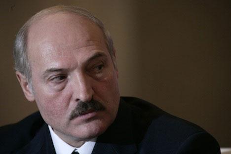 Alexander Lukashenko. Foto de PhotoXpress