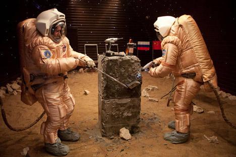 Der bemannte Flug zum Mars vorerst auf der Erde simuliert. Foto: Mars500