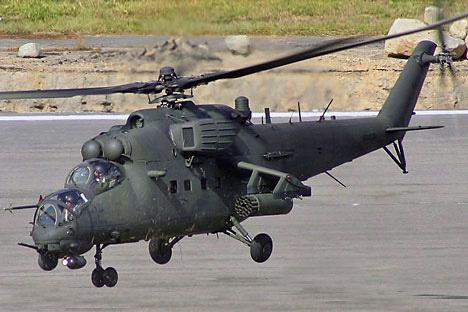 Mi-35M/Divulgação