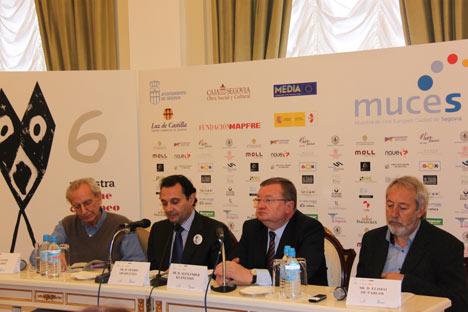 La presentación de la Muestra de Cine Europeo ciudad de Segovia 2011 en la Embajada de Rusia en Madrid