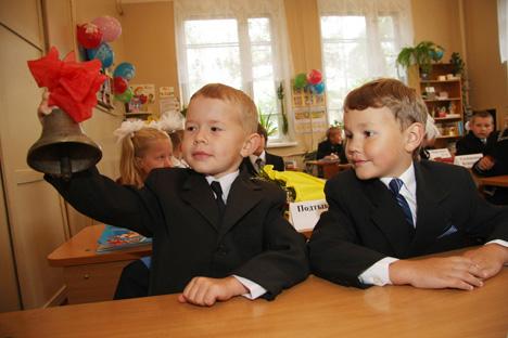 Alunos russos não são incentivados a debater em sala de aula/Foto:AP/Fotolink
