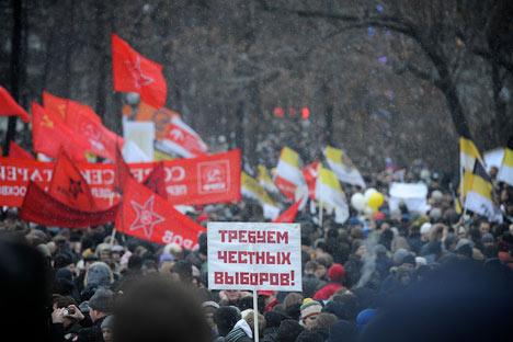 Mezcla de esperanza y protesta y decepción tras la multitudinaria protesta. Foto de http://www.ridus.ru/news/14307/