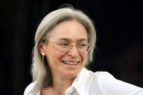 Anna Politkovskaya. Foto de Rex Features / Fotocom