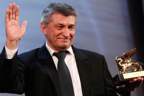 Alexánder Sokúrov. Foto de DR