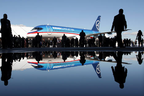 Sukhoi Superjet 100/Foto:AFP/East News