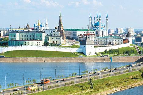 La República de Tartaristán está situada en el corazón de Rusia, en la confluencia de los ríos Volga y Kama. Foto de Lori/Legion Media