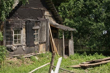 La casa donde vivió Serguéi Dovlátov. Foto de Vladímir Ruvinski