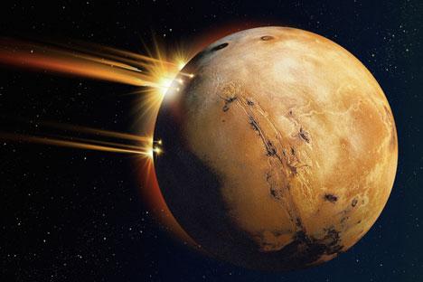 Desde hace mucho tiempo la imagen del Marte forma parte inalienable de la cultura moderna. Foto de PhotoXpress