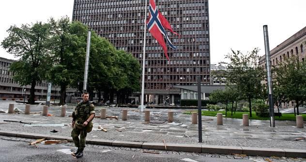 Der Doppelanschlag vom 22. Juli forderte das Leben von 76 Menschen. Foto: AFP