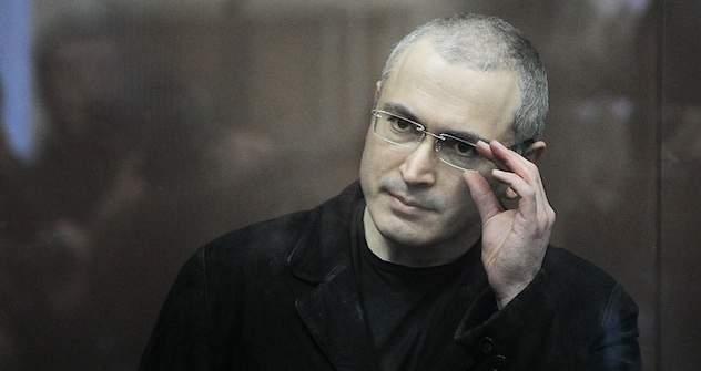 Michail Chodorkowski im Moskauer Chamowniki-Gericht. Foto:  ITAR-TASS
