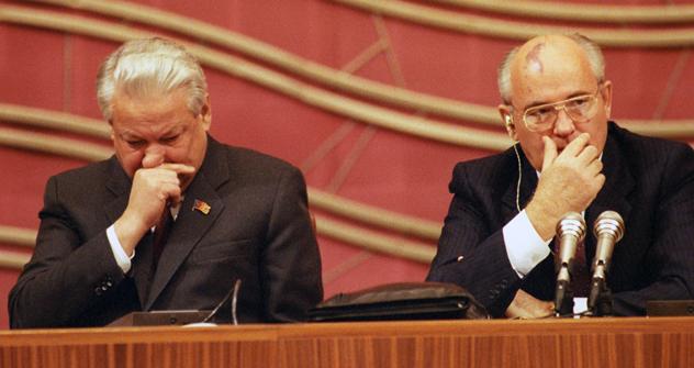 Foto de Centro presidencial de Borís N. Yeltsin/ITAR_TASS, Yuri Lizunov y Aleksandr Chumichov