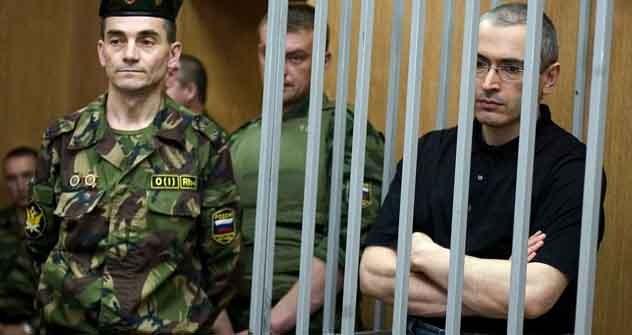 6 Jahre hat es gedauert, bis Amnesty Chodorkowski und Lebedew als politische Gefangene eingestuft hat. Foto: Getty Images/Fotobank