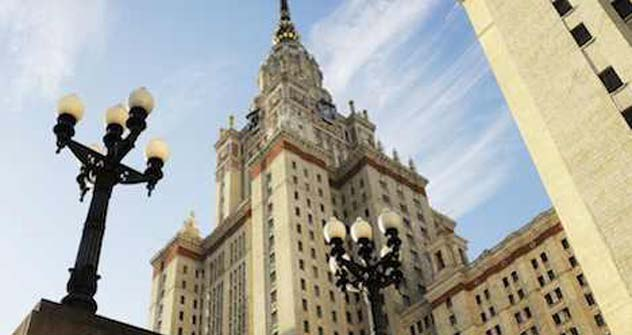 Lomonossow-Universität in Moskau. Foto:ITAR-TASS