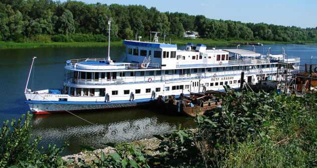 Korruption in der Flussschifffahrt: Auf dem Bulgaria-Schwesterschiff Pjotr Aljabin wurden bei der letzten Überprüfung zahlreiche Verstöße festgestellt.. Foto: RIA Novosti
