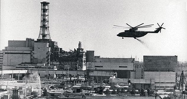 Kernkraftwerk Tschernobyl Foto: RIA NOVOSTI