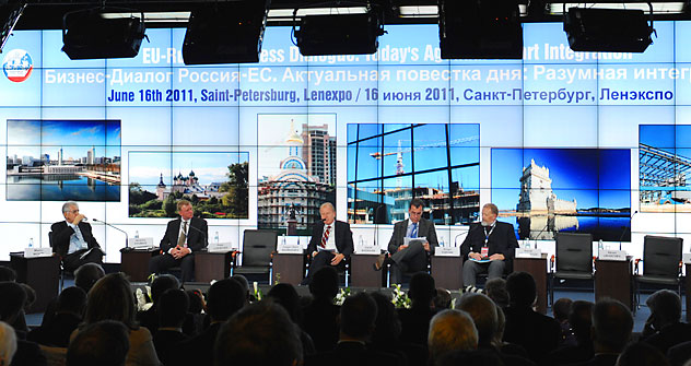 Internationales Wirtschaftsforum in St. Petersburg. Foto: ITAR-TASS