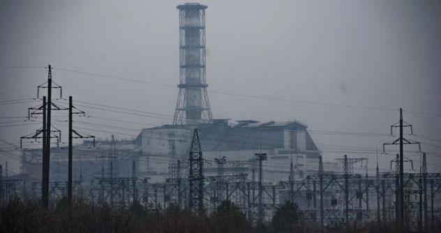 Block 4 des Kernkraftwerks Tschernobyl. Foto: Veronika Dorman