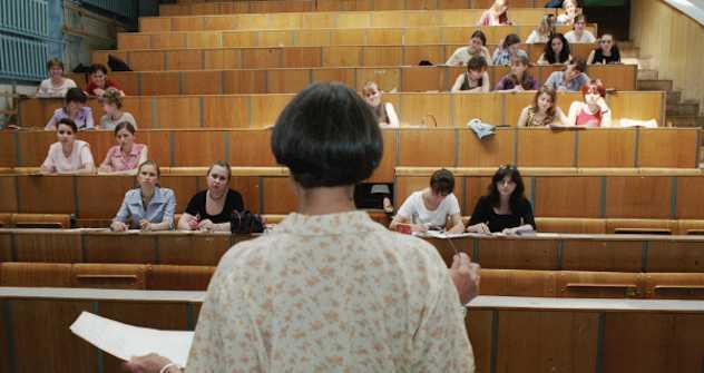 20 Jahre Stillstand: viele Studenten haben keine Interesse an der Lehre.