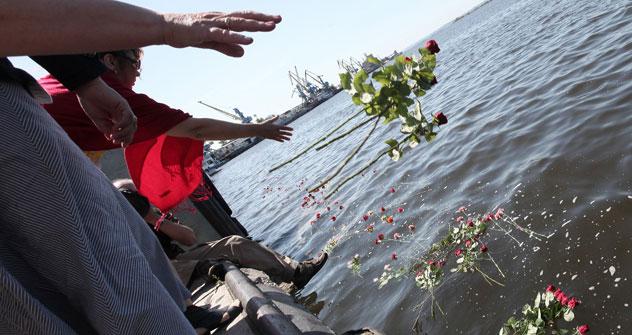 122 Opfer kamen bei der Schiffskatastrophe ums Leben. Foto:Kommersant