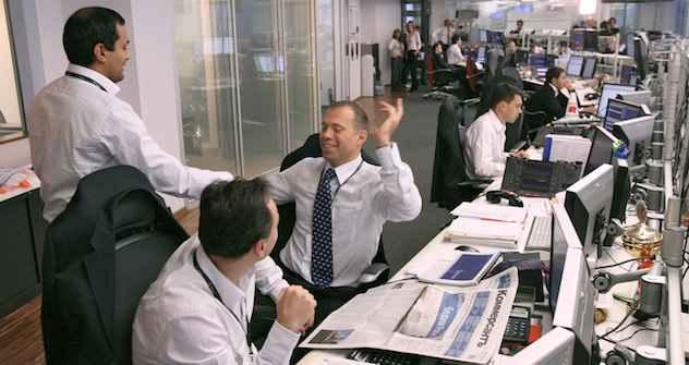 In modernen Firmen ticken russische Manager europäisch: hier die Consulting-Firma Troika-Dialog. Foto:  Kommersant