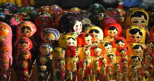 Die Matrjoschka-Puppe bleibt der beliebteste Souvenir Russlands. Foto: Jorge Lascar